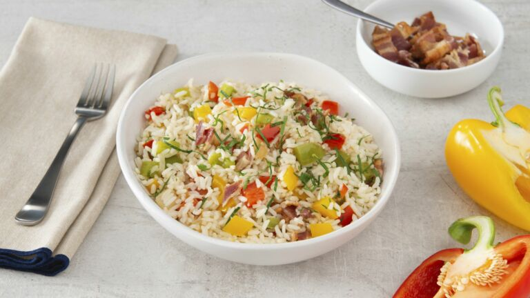 Three Pepper Rice Pilaf