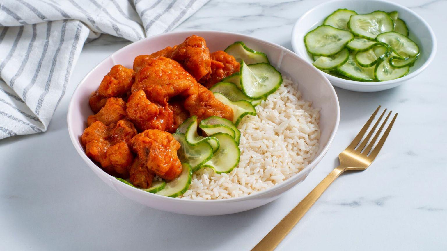 Nashville Hot Cauliflower Rice Bowl