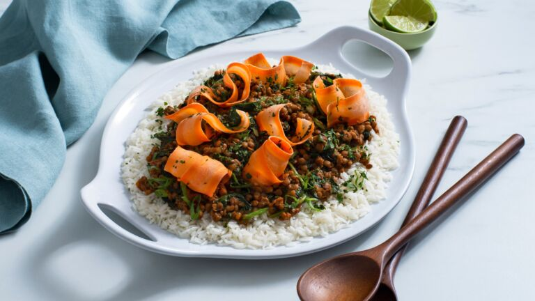 Thai Lentil and Rice Salad