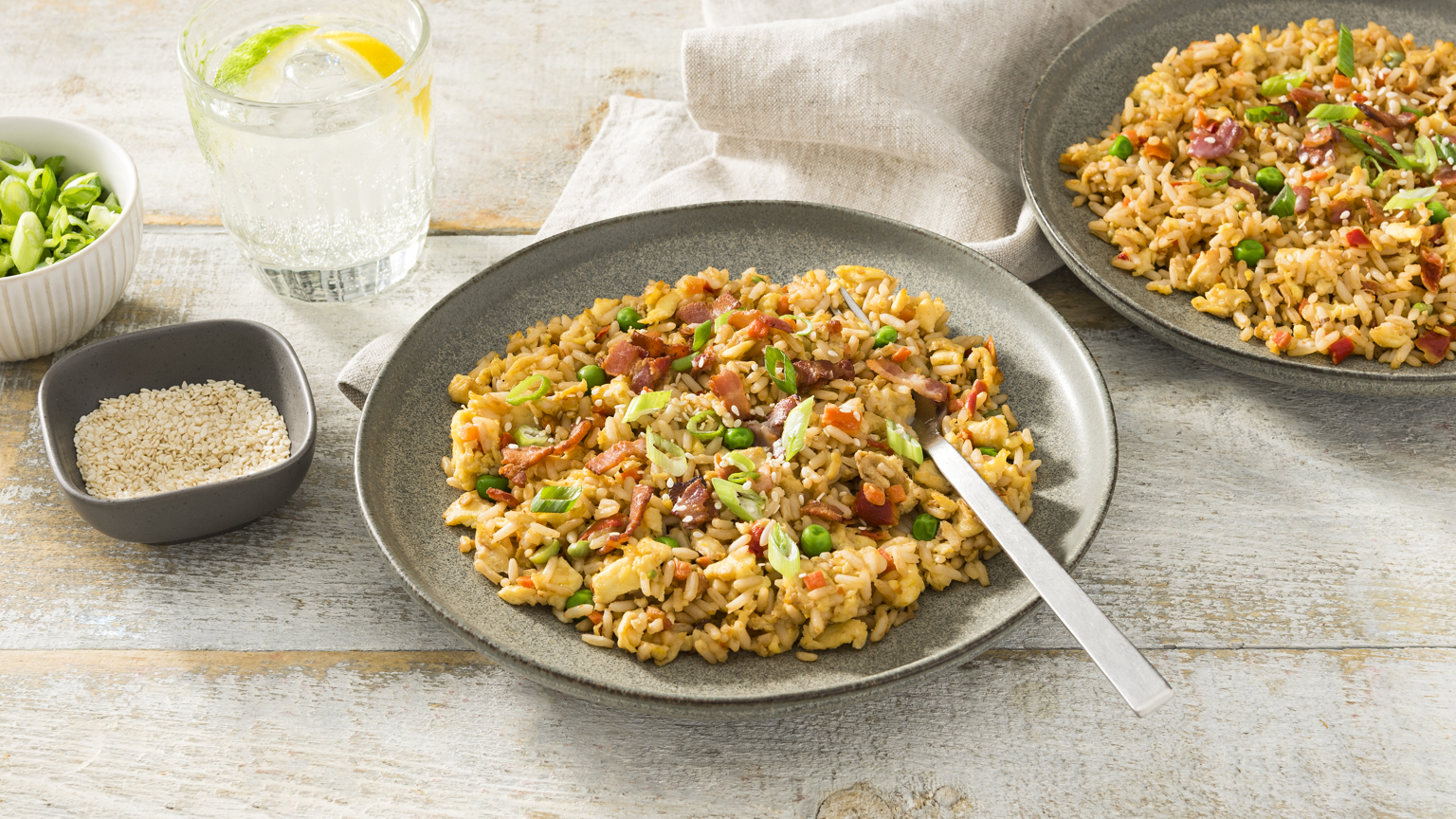 Bacon and Eggs Fried Rice