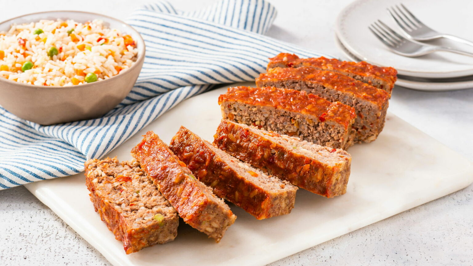 Rice and Veggie Meatloaf