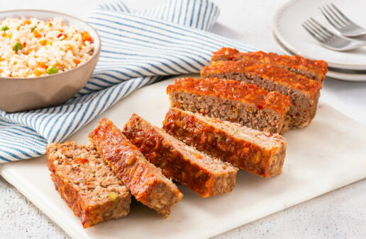 ground-beef-meatloaf-with-rice-and-vegetables