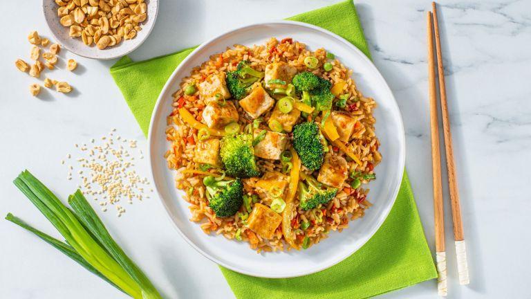 Sesame Tofu Stir Fry