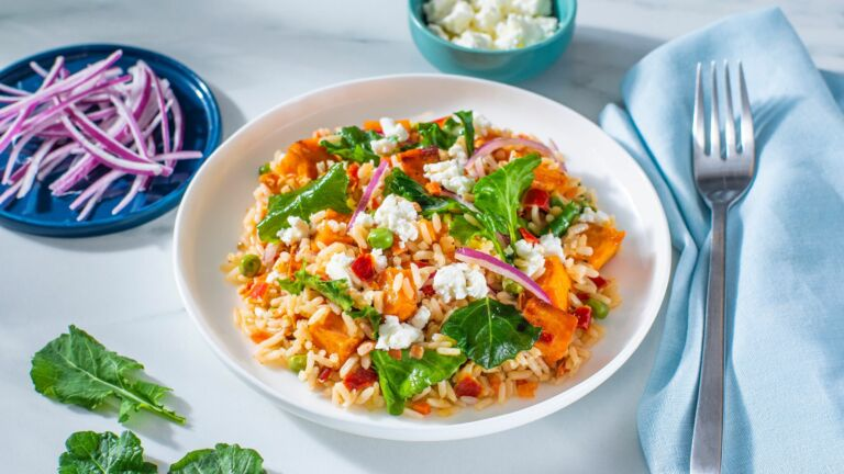 Sweet and Spicy Harvest Vegetables and Rice
