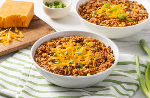 vegetarian-chili-with-rice-black-beans-corn-bell-peppers-and-cheddar-cheese