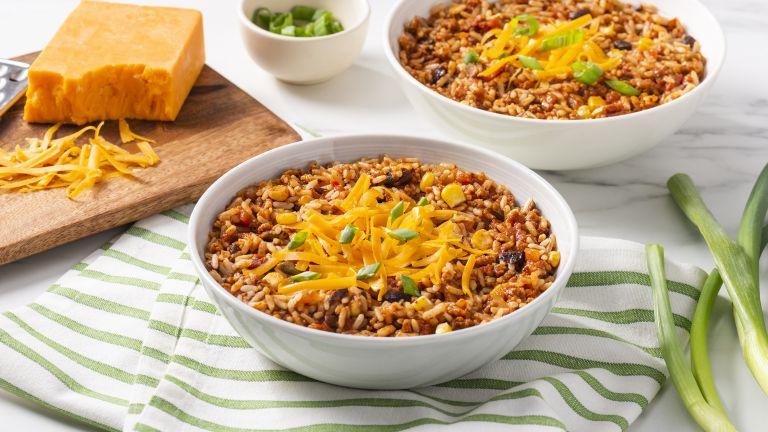 Vegetarian Chili and Rice
