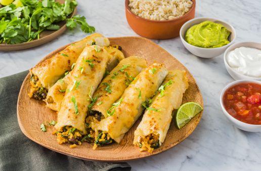Baked-Vegetarian-Taquitos